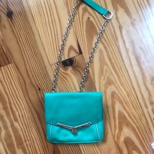 Kelly green crossbody botkier